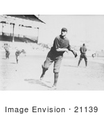 #21139 Stock Photography Of William Lawrence James Throwing A Baseball