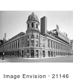 #21146 Stock Photography Of The Shibe Park Stadium Philadelphia Pennsylvania
