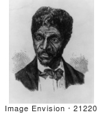 #21220 Stock Photography of Dred Scott of the Dred Scott v. Sandford Case in 1856 by JVPD