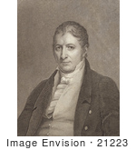 #21223 Stock Photography of Eli Whitney, Inventor of the Cotton Gin and Interchangeable Parts by JVPD