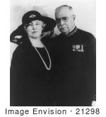 #21298 Stock Photography of John Philip Sousa and His Wife, Jane van Middlesworth Bellis by JVPD