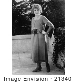 #21340 Stock Photography Of Gladys Louise Smith Known As Mary Pickford With One Hand On Hip