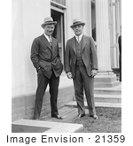 #21359 Stock Photography Of Will Rogers And Nicholas Longworth