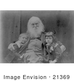 #21369 Historical Stock Photography Of Walt Whitman With Jeannette And Nigel Cholmelly-Jones