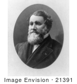 #21391 Historical Stock Photography Of The Founder Of The Mccormick Harvesting Machine Company Cyrus Mccormick
