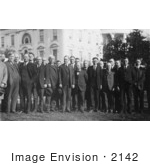 #2142 Calvin Coolidge With House Agricultural Committee