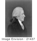 #21437 Stock Photography Of Alexander Hamilton In Profile