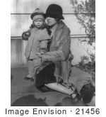 #21456 Stock Photography of Alice Roosevelt Longworth With Her Daughter, Paulina Longworth Sturm, 1927 by JVPD