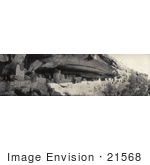 #21568 Architecture Stock Photography Of The Cliff Palace Mesa Verde National Park Colorado 1910