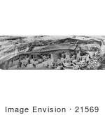 #21569 Architecture Stock Photography Of The Cliff Palace Mesa Verde National Park Colorado 1911