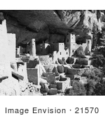 #21570 Architecture Stock Photography Of Cliff Palace In Mesa Verde National Park Colorado