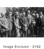 #2162 President And Mrs Coolidge Fur Traders Association