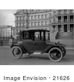 #21626 Stock Photography Of A Detroit Electric Car
