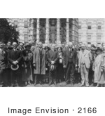 #2166 President Coolidge With The American Chemical Society