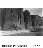 #21686 Stock Photography Of The Cliffs Of Canyon De Chelly Arizona 1905