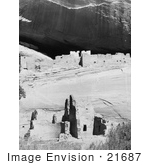 #21687 Stock Photography Of The White House Ruins Canyon De Chelly Arizona
