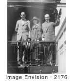 #2176 President Calvin Coolidge, Wife and Son by JVPD