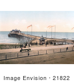 #21822 Historical Stock Photography Of The Pier In Hastings Sussex England
