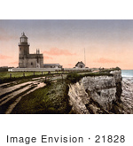 #21828 Historical Stock Photography Of The Lighthouse Of Hunstanton In Norfolk England