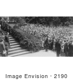 #2190 Calvin Coolidge And Crowd Of National Association Of Real Estate Boards