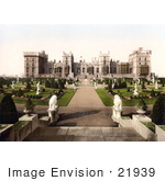 #21939 Stock Photography Of Statues In The East Terrace Gardens Of Windsor Castle Berkshire England