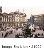 #21952 Stock Photography Of Busy Piccadilly Circus In Westminster London England