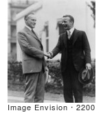 #2200 Theodore Roosevelt Jr And Calvin Coolidge