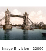 #22000 Stock Photography Of The Tower Bridge Over The River Thames In London England