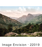 #22019 Stock Photography Of The Great Langdale Valley In Windermere Cumbria Lake District England
