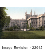 #22042 Stock Photography Of The New College Of St Mary In Oxford Oxfordshire England Uk