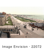 #22072 Stock Photography Of The Promenade In Front Of Coastal Buildings In Southport England Uk