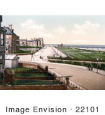 #22101 Stock Photography Of The Promenade And Pier In Skegness England Uk