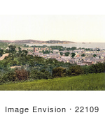 #22109 Stock Photography Of The Cityscape Of Paignton On The Torbay In Devon England Uk