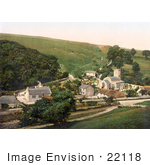 #22118 Historical Stock Photography Of St Laurence'S Church In The Village Of Upwey Dorset England