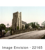 #22165 Historical Stock Photography Of The Church In Battle Rother East Sussex England Uk