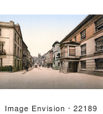 #22189 Historical Stock Photography Of The Seven Stars Hotel On Fore Street Totnes Devon England Uk