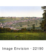 #22190 Historical Stock Photography Of The Village Of Torrington Devon England Uk