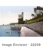 #22239 Historical Stock Photography Of The Appley Tower In Ryde Isle Of Wight England Uk