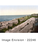 #22246 Historical Stock Photography Of The Esplanade And Waterfront Of Ryde Isle Of Wight England Uk
