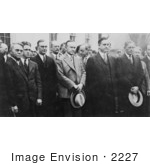 #2227 President Calvin Coolidge With White House Correspondents