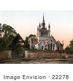 #22278 Historical Stock Photography Of St Mildred'S Church In Whippingham Isle Of Wight England