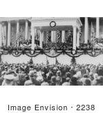 #2238 William H Taft Administering The Oath Of Office To Calvin Coolidge