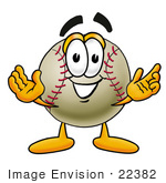 Baseball Cartoon Character