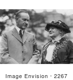 #2267 President Coolidge And Mother Jones