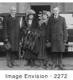 #2272 President and Mrs Coolidge With Vice President and Mrs Harding by JVPD