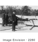 #2280 Calvin Coolidge White House Construction