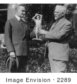 #2289 USJ Dunbar Presents A Statue Of Walter Johnson