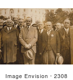 #2308 Calvin Coolidge With The Scottish Rite Of Freemasonry