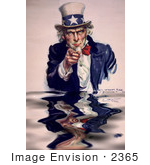 #2365 Uncle Sam - I Want You For Us Army