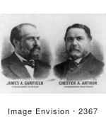 #2367 James A. Garfield and Chester A. Arthur by JVPD